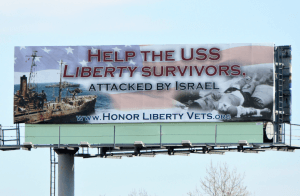 USS LIBERTY Billboard