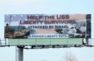 USS LIBERTY Billboard
