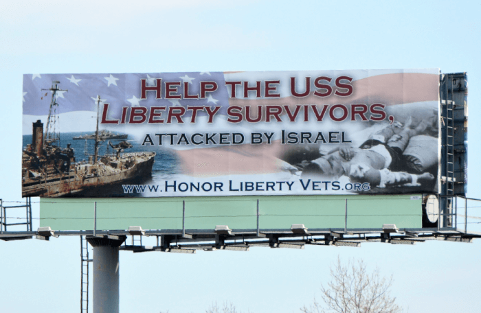 Outfront Media Dishonors USS Liberty Vets and Friends