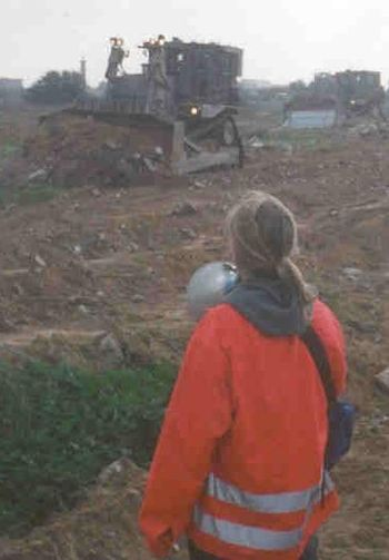 14th Anniversary of the murder of Rachel Corrie