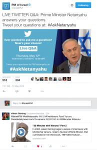 #AskNetanyahu
