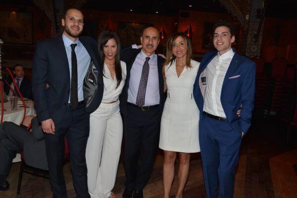 The Rezko family, Danny Rezko, Chanelle Rezko, Tony Rezko, Rita Rezko and Adam Rezko. Photo Copyright Tony Rezko Family 2016. All Rights Reserved.
