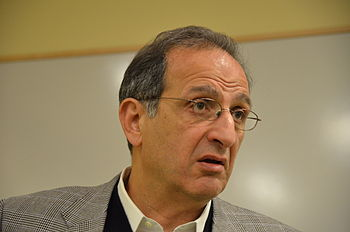 English: James Zogby, author of Arab Voices, s...
