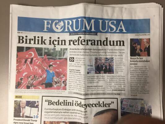 Forum USA Turkish American Newspaper