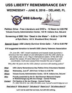 USS Liberty Remembrance Day 2016 Flyer copy