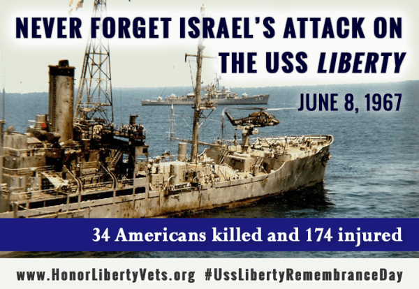 Liberty Veterans Billboard to acknowledge Israel's killing of Americans was removed after pro-Israel protests