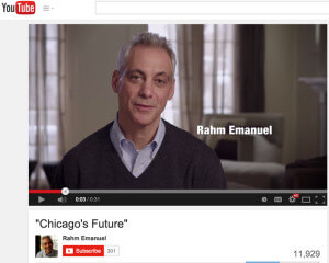 "Rahm Emanuel campaign Ad ""Worst enemy"""