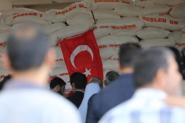 Turkish government provides aid to Palestinians under siege in the Gaza Strip. Photos Copyright Mohammed Asad 2016, All Rights Reserved.