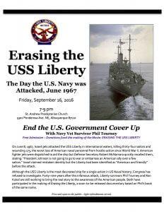 Flier Erasing the USS Liberty ABQ copy