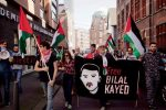 Free Bilal Kayed protest