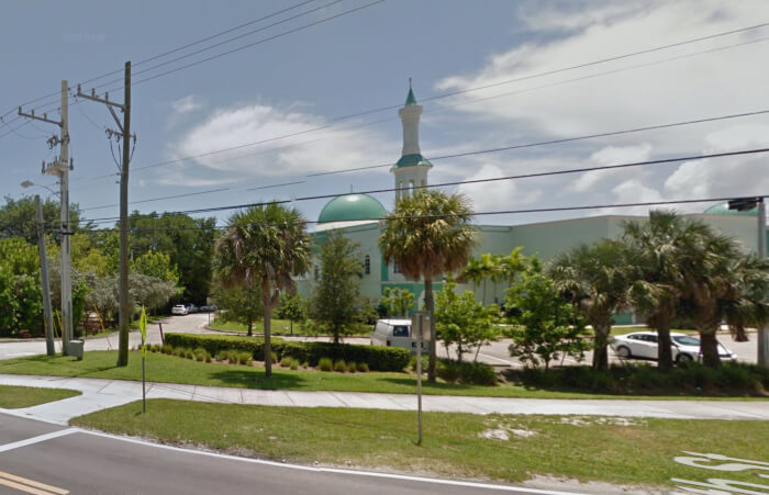 Florida Mosque taken off voting list because of threats
