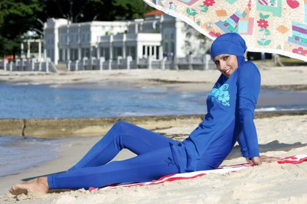 A Berqa and swimsuit combination