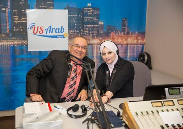 US Arab Radio hosts