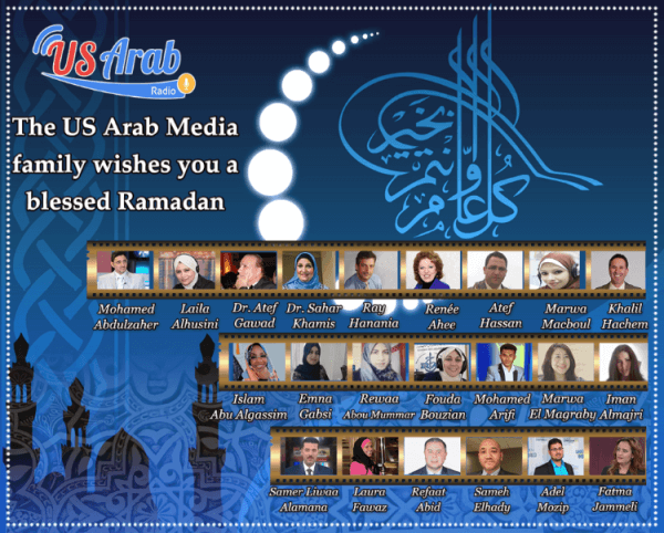 US Arab Radio team co-broadcasters
