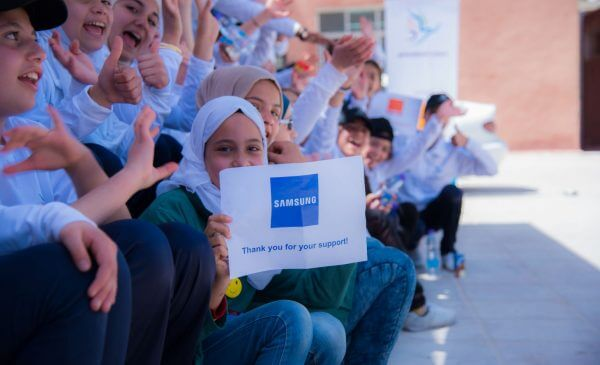 Generations for Peace funded by Samsung expands into the Arab World to promote peace