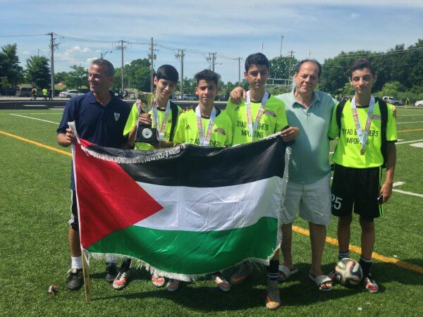 Chicago KICS 2016 International Soccer champions, Palestine United