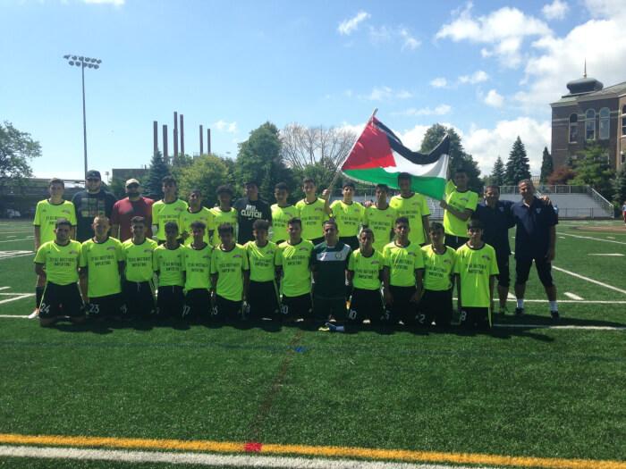 Palestine United wins 2016 soccer championship