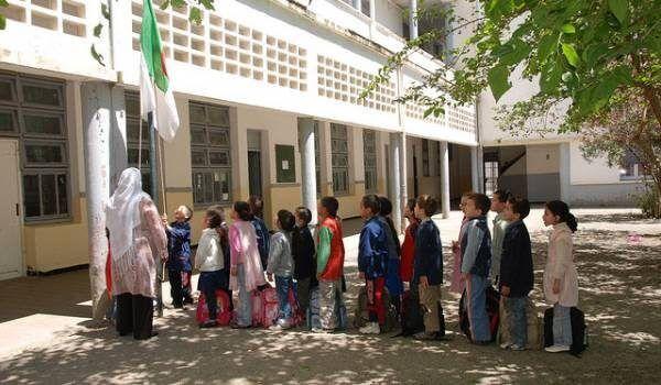 Algerian school kids