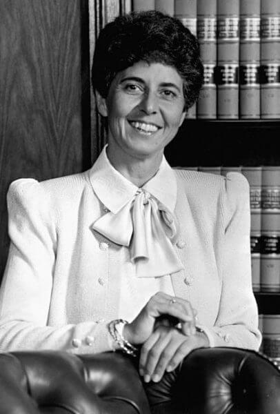 Federal Judge Rosemary Barkett (Barakat). Courtesy of Wikipedia