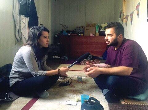 CoFounder Razan Alzayani interviews Sarhang