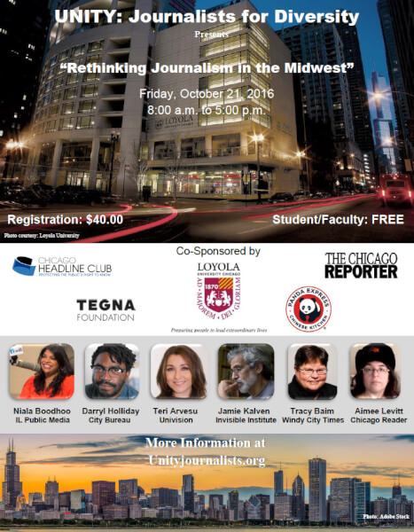 UNITY Ethnic Journalists host conference in Chicago
