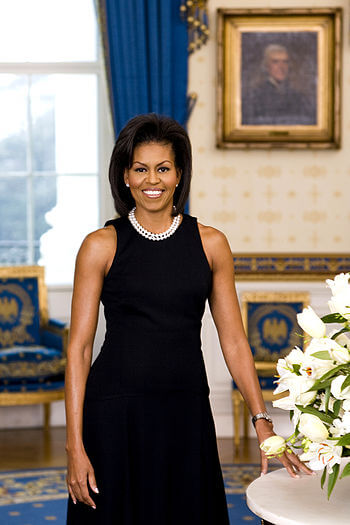 Michelle Obama, Official White House photograph