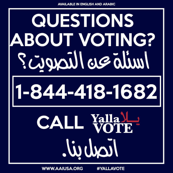 AAI Launches voter information hotline