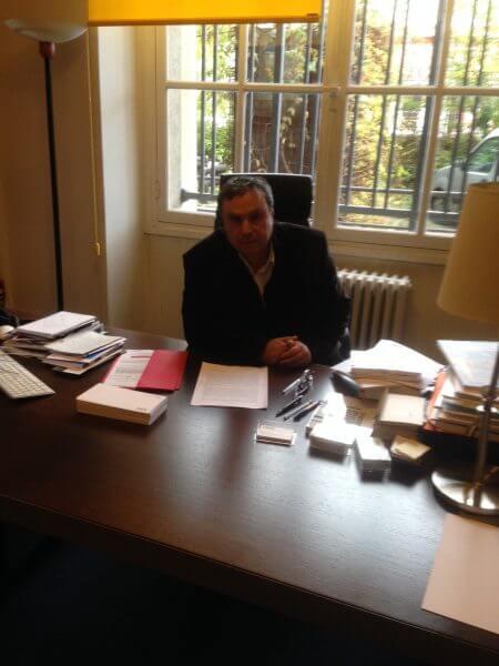 Professor Benjamin Storaauthor of the book Algeria. Photo courtesy of Abdennour Toumi