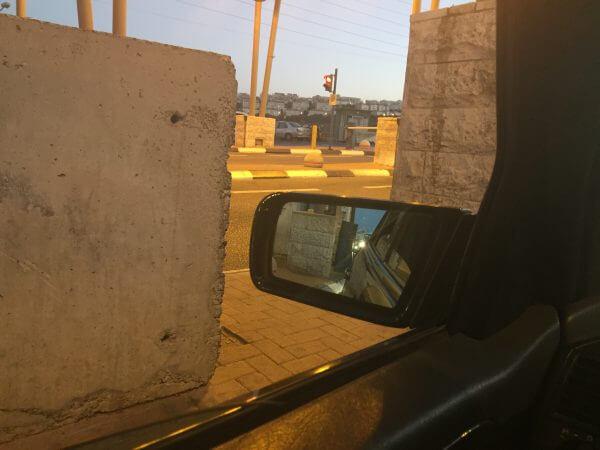 Israeli Hizma Checkpoint. Photo courtesy of Maria Khoury