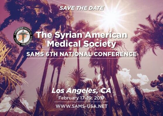 Syrian American Medical Assn Conference Feb 17-19
