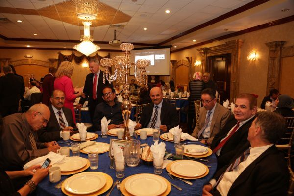 Attendees at the US Arab Radio banquet celebrating 11 years of success