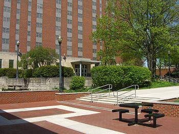 English: Drackett Tower at The Ohio State Univ...