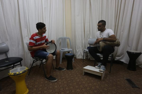 Gaza Strip music school. Photos courtesy of Mohammed Asad. Copyright (c) Mohammed Asad 2016 All Rights Reserved. Permission to use with attribution