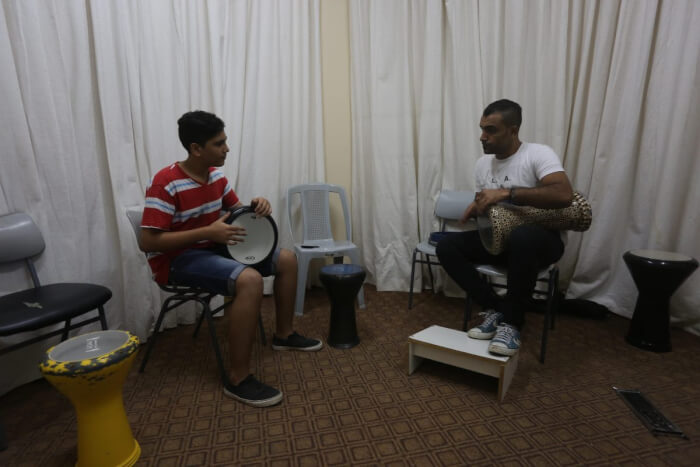 Gaza music school survives despite Israeli assault