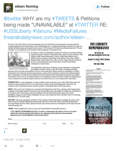 Inquiry to Twitter