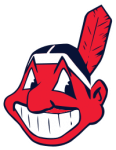 """Cleveland Indians logo, """"Chief Wahoo"""" is considered a racist image by many (Photo credit: Wikipedia)"""
