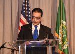 H.E. Ambassador Salah Sarhan, Chief Representative to the League of Arab States in Washington D.C. (Photo credit: Samia AbdelWahed, courtesy of PR News Wire