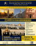 Ibtessam Asfour & Holy Land Ecumenical Foundation host Holy Land tour
