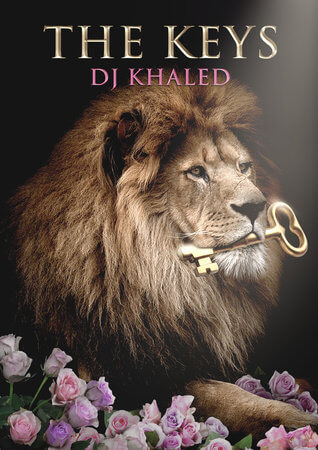 DJ Khaled's new book The Keys. Book Cover. Courtesy of Penguin Random House Books
