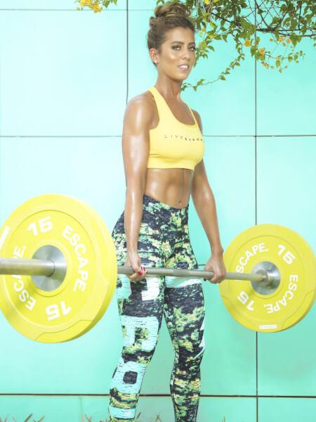Maya Nassar, Lebanese Fitness expert. Photo courtesy of Maya Nassar
