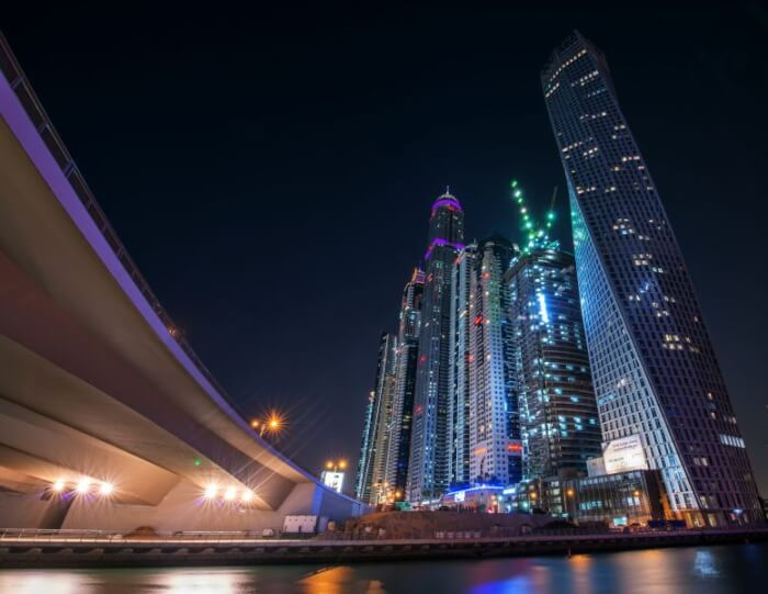 """Dubai Marina"" by mattharvey1 is licensed under CC BY-ND"