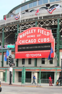 Wrigley Field the day after the Cubs won the 5th game of the World Series against the Cleveland Indians, Oct. 30, 2016. Photo (C) Copyright Ray Hanania 2016, 2017 All Rights Reserved. www.TheDailyHookah.com