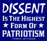 DISSENT Keeps America Great #MAGA #merylstreep #FreePalestine #FreeVanunu