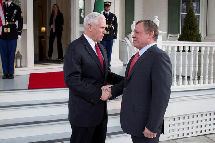 Vp King Abdullah Jordan 1