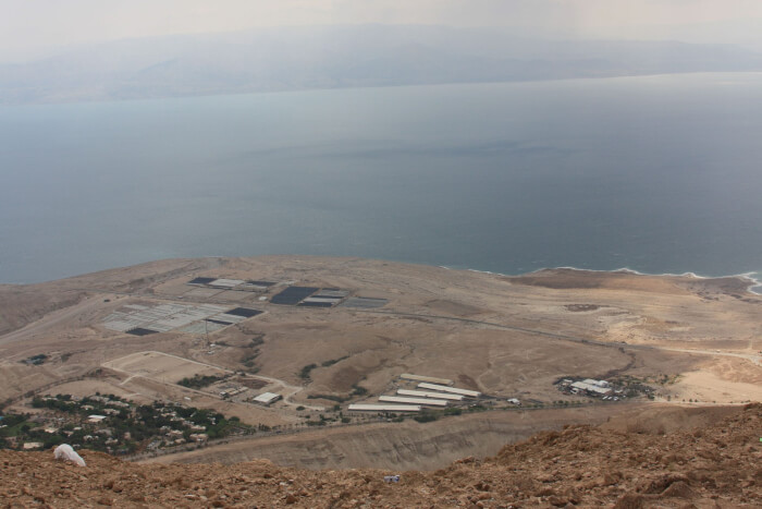AHAVA Factory in the Israeli occupied West Bank at the Dead Sea. Photo courtesy of Wikipedia