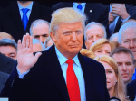 Donald Trump sworn in as President, courtesy the White House