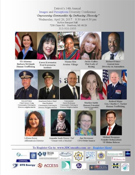 14th Annual Images & Perceptions Diversity Conference April 26