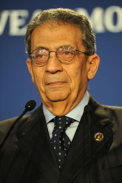 Amr Moussa, Secretary-General of the Arab Leag...
