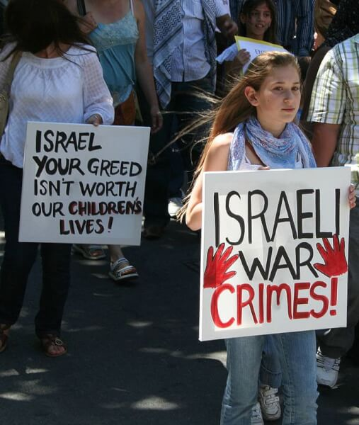 Third Melbourne protest for the Palestinians o...