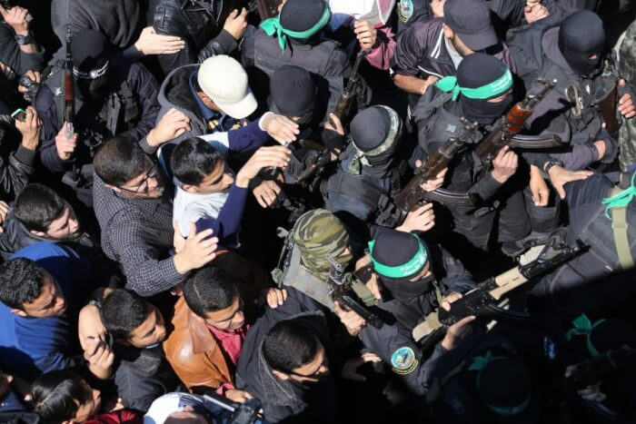 Funeral for Mazen Faqha murdered by Israeli assassin. Photo courtesy of Mohammed Asad.